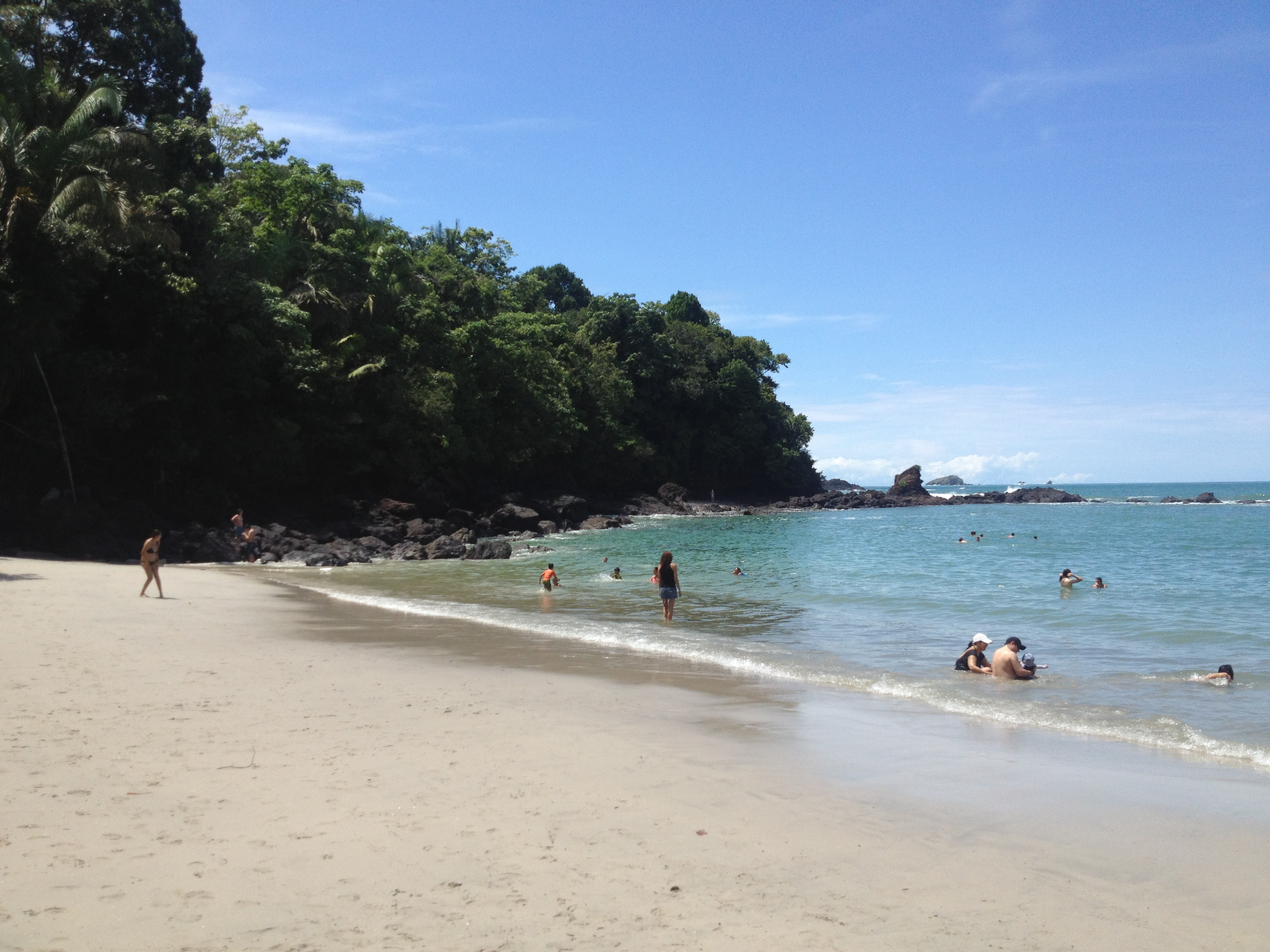 People Gather At One Of The Most Beautiful Beaches In Costa Rica Photograph By Brenda